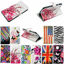 Wallet Flip Book Leather Phone Cover Case For Samsung Galaxy S4 S5 S5 Mini LG