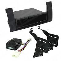PRIUS CAR STEREO MATTE BLACK ISO-DIN RADIO INSTALL DASH KIT COMBO 99-8240B