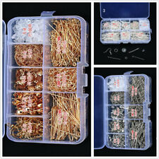 750pcs Jewelry Starter Making Kit Set Earring Bracelet Necklace Findings in Box