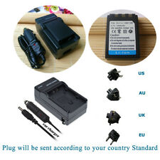 Li-10B Battery for Olympus Li-12C LI-10C Li-12B C-470 C-5000 /Mains&car Charger