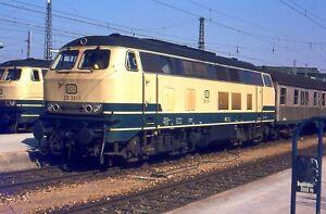 Originaldia 218 391, München , 1979