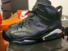 "Nike Air Jordan 6 Retro ""Black Cat"" Style # 384664-020 Mens Size 10.5"