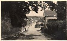 Castle Street Nether Stowey Nr Holford Bridgwater RP old pc used