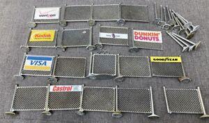 1/32 Fences for Slot Cars - Scalextric Fly Carrera Ninco Monogram Slot It  MRRC