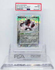 POKEMON EX HIDDEN LEGENDS REGISTEEL EX 99/101 HOLO PSA 10 GEM MINT #28223264