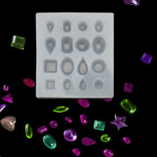 Cabochon Gem Silicone Mold Oval Square Round Shapes Resin Epoxy Jewelry  Making