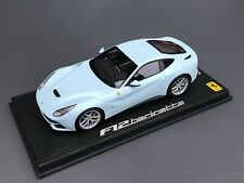 Ferrari F12 Berlinetta Boticelli blue BBR 1:18 !!! no MR !!!! VERY RARE 5 pcs !!