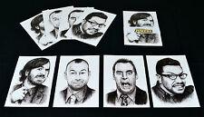Impractical Jokers Portrait Postcard Set of 4 - Joe Sal Murr & Q - Art Prints