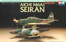 AICHI M6A1 SEIRAN - WW II ATACK FLOAT PLANE (JAPANESE NAVY MKGS) 1/72 TAMIYA