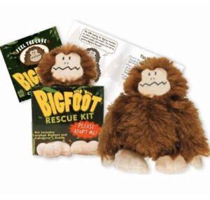 Adopt a Bigfoot Rescue Kit Sasquatch Plush Cryptozoology