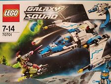 RARE LEGO 70701 GALAXY SQUAD SWARM INTERCEPTOR INCL. 2 FIGURES SHIP & FLYER BIKE
