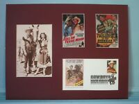 Roy Rogers, Trigger & Dale Evans & First Day Cover of the Roy Rogers stamp