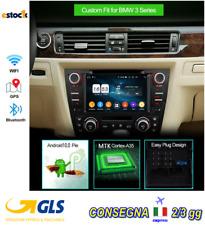 CAR TABLET AUTORADIO per BMW E90-E91-E92-E93 ANDROID 10 NAV 2GB-16gB GPS CAMBUS