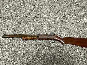 VINTAGE BENJAMIN FRANKLIN 312  .22 PELLET RIFLE AIR GUN
