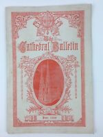 VTG 1928 St Patrick's Cathedral New York Bulletin Booklet W/ Advertising Ads
