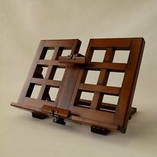 Wooden Alder Bookstand Rack Holder Bookrest adjustable Craft Made in Japan New