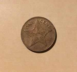"Bahamas One Cent 1977 ""You Grade It"" - Starfish"