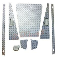 CCHand Diamond Plates Silver Body Accessories 1:10 Land Rover D90 D110 #D-1004