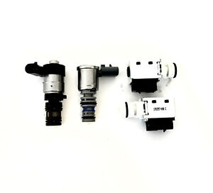 4T40E 4T45E Transmission Solenoid Set 2003 Up 4 pieces 1-2 3-4 Shift LockUp EPC
