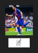 LUIS SUAREZ #5 (Barcelona) Signed A5 Mounted Photo Print - FREE DELIVERY