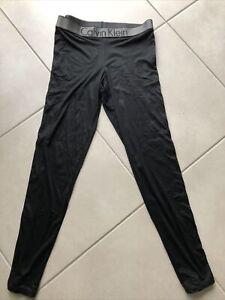 Ladies Black Calvin Klein Leggings (sleepwear) Size Medium 10-12