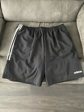 Mens Black Adidas Shorts Brand New 2XL   XXL