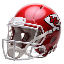 KANSAS CITY CHIEFS RIDDELL NFL FULL SIZE AUTHENTIC SPEED FOOTBALL HELMET