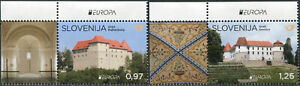 SLOVENIA - 2017 - SET MNH ** - EUROPA Stamps - Palaces and Castles III