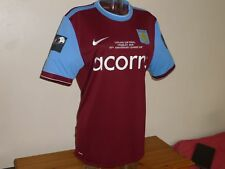 Camiseta home Aston Villa 2009-2010 final Wembley talla L