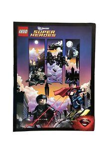 LEGO DC Universe Superman Man of Steel Comic Book **FREE WORLDWIDE SHIPPING**