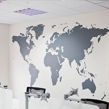 "41.5"" Huge World Map Removable Vinyl Wall Sticker Decal Mural Art Home Decor"