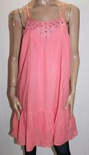 TARGET Brand Coral Pintuck Embroidered Front Day Dress Size 12/M BNWT #SH119