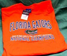 NEW/WT! FLORIDA GATORS '06-07 NATIONAL CHAMPS SHIRT~XL