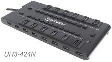 28 Ports USB 2.0/USB 3.0 Combo HUB, Manhattan 163606 MondoHub, UH3-424N