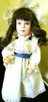 "Vintage 1983 Effanbee Doll by Artist Jan Hagara ""Cristina"" Made in USA-W. Stand"