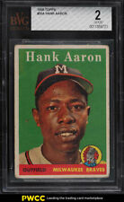 1958 Topps Hank Aaron #30 BVG 2 GD