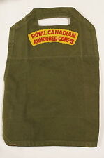 Royal Canadian Armoured Corps RCAC Olive Drab Brassard