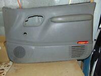 1995 Chevrolet K1500 W/T Right Passenger Front Door Trim Panel GREY NON POWER