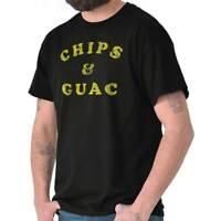 Chips And Guac Guacamole Foodie Taco Gift Short Sleeve T-Shirt Tees Tshirts