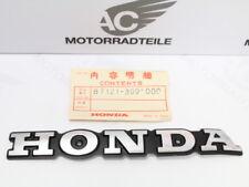 Honda CB 125 T Tankemblem rechte Seite original fuel tank emblem right side NOS