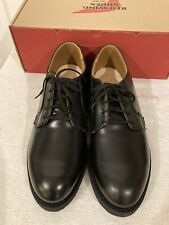 NEW Red Wing Heritage 101 Postman Oxford Black Men's Sz 10D 2nds