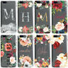 DYEFOR PERSONALISED FLORAL TRANSPARENT & NAME PHONE CASE COVER FOR ONEPLUS