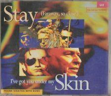 C.D.MUSIC E480  U2 STAY / FARAWAY,SO CLOSE! ,I'VE GOT YOU UNDER MY SKIN    CD