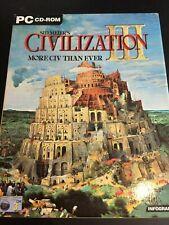 Sid Meier's Civilization 3. PC-CD ROM