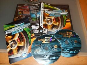 Need for Speed Underground 2 II  Classic driving game Original   PC game  VGC