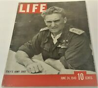 June 24, 1940 LIFE Magazine Old COKE Ad 40s advertising ads add FREE SHIPPING 6