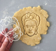 Frida Kahlo Cookie Cutter, Frida Cookie Cutter, Celebrity Cutters