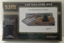 K-LINE Train Switch Left Hand Manual K-0263 Compatible w/ 027 Track O-27 Scale