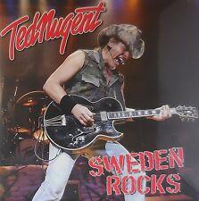 TED NUGENT sweden rocks 2x180 gr. Ltd Edition  Foldout Sleeve 2LP NEU OVP