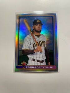 2021 Bowman Chrome 1991 Checklist Silver Parallel Fernando Tatis Jr. SD Padres